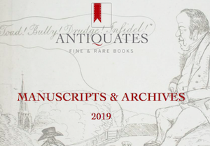 Manuscripts & Archives